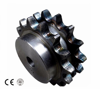 Double Row Steel Sprockets for Two Single Chains