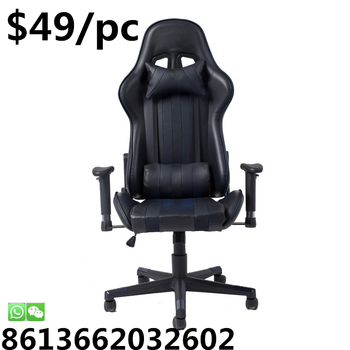 Cheap PC Computer Swivel Lift Office Gaming Racing Chair upgrade pursh massage