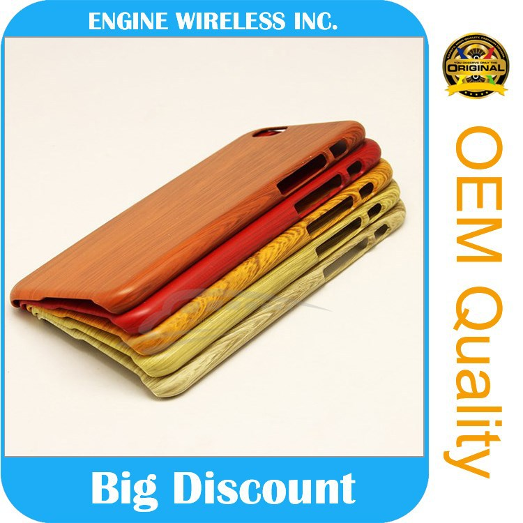 china shenzhen factory wholesale phone case blank wood case for iphone 6plus