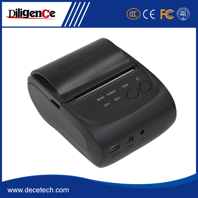 good price mini bluetooth thermal printer with car charger