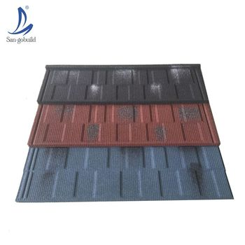 Building Material Cheap Stone Coated Steel Roofing Sheet