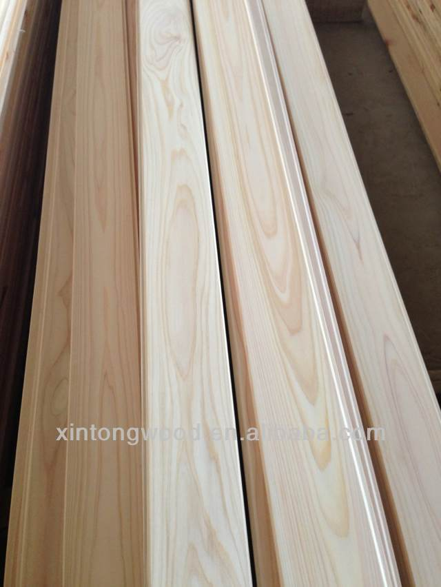 Japanese Cypress Wood Timber Wall Panels
