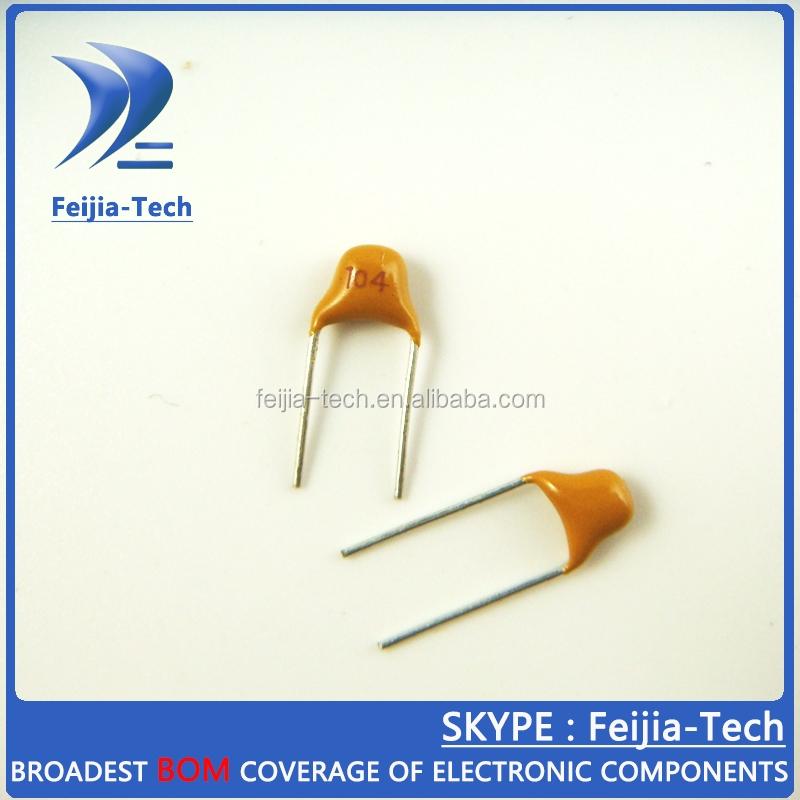 1000pcs Multlayer Ceramic Capacitor 100000PF 100NF 0.1uF 50V 104 pitch=5.08mm