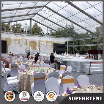 Newest Big Decor Wedding Tent For Wedding Reception In South Africa