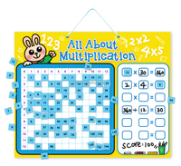 E1015 wholesales top quality magnetic learning multiplication resources for 3 ~ 9 years olds kids and child