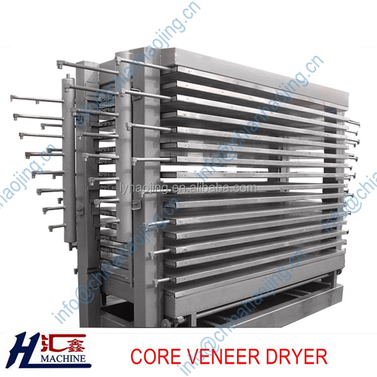 Plywood drying machine /core wood veneer dryer