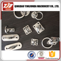 square eye plate stainless steel marine pad eye stainless steel marine hardware wholesale