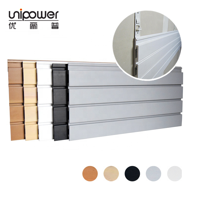 USA Displays Garage Muur Opslag Muur Tool Organizer Heavy Duty PVC Slatwall Panel voor Garage
