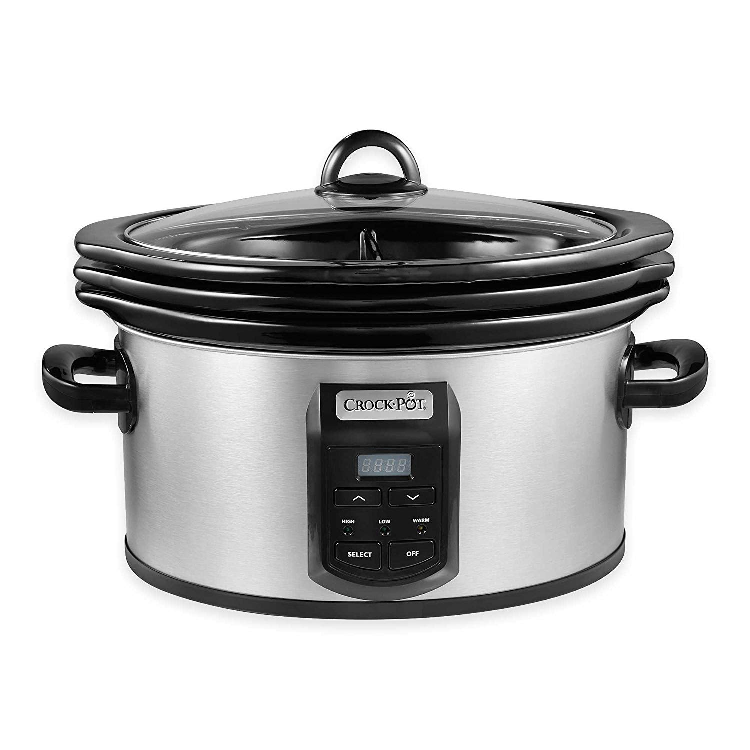 Crock-Pot SCCPVS642-S Choose-A-Crock Programmable Slow Cooker