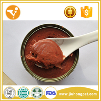 Oem Healthy Halal Pet Treats Tuna Meat Pet Canned Food
