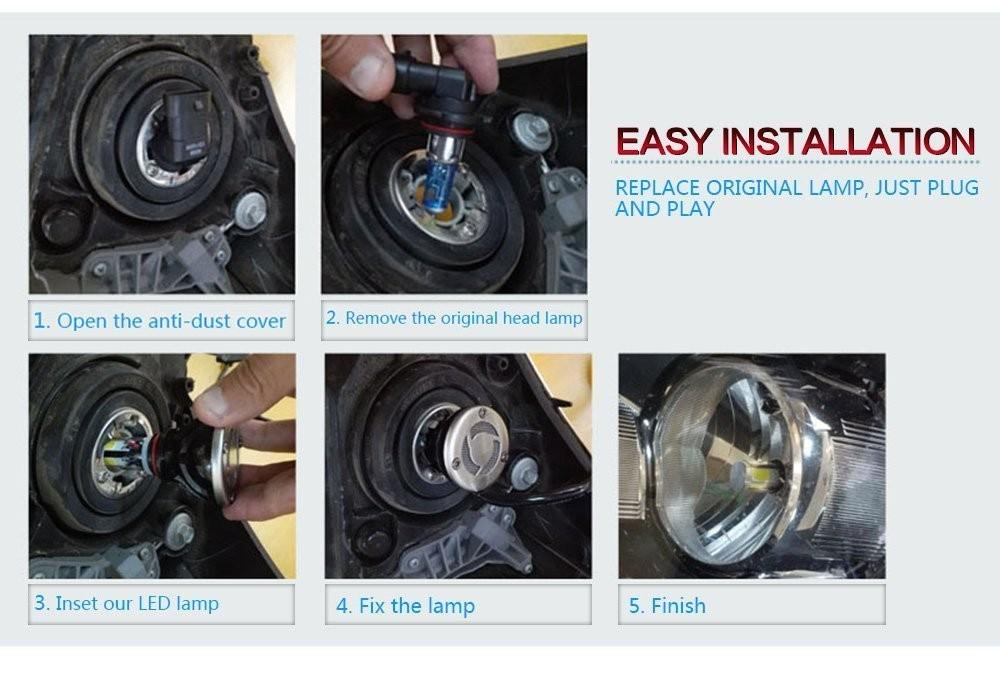 Led Lampen H7 : Neue led licht für motoren motorrad auto led lampen scheinwerfer kit