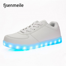 2017 Hot Selling High Quality Casual Shoes Light Up LED shoes