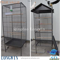 qingdao large bird cage folding parrot breeding cages