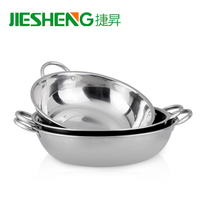 Large cooking pot restaurant stainless steel 201 soup pots
