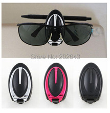 GC003 new  hot sale car vehicle  glasses clips clear sun visor sunglassess clip holder for car eyeglasses holder  for suzuki sx4