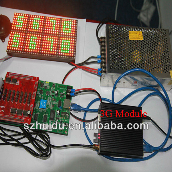 Perangkat Lunak Bebas LED RGB Controller Program Penuh Warna Asynchronous LED Controller HD- C3