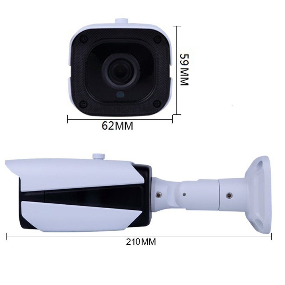 3.6mm star light IP66 waterproof Security Bullet Camera