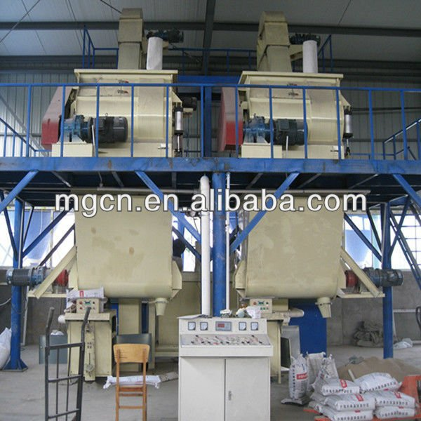 2013 New Prouducts High Efficiency Tiles Grout Production Plant Made In China