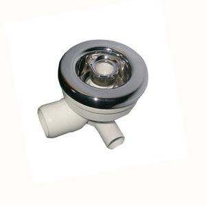 Bath Tub Overflow Chrome-plated ABS front Spa Jets Whirlpool Massage Jets