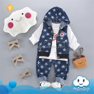 AS-358B 2017 fashion chinese baby clothes brands wholesale outfits clothing children frocks designs 3pcs