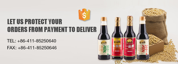 Promotion Price OEM Glass Bottle Chinese Products Soya Sauce Soja