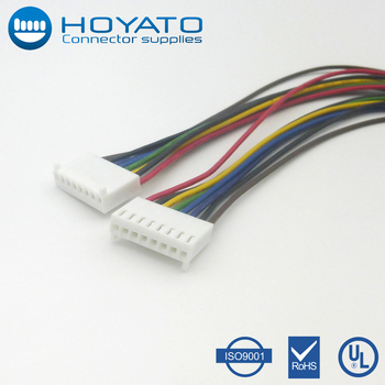 Strange 8Pin Jst Connector 2 54Mm Pitch Wiring Harness And Flat Ribbon Cable Wiring Cloud Mangdienstapotheekhoekschewaardnl