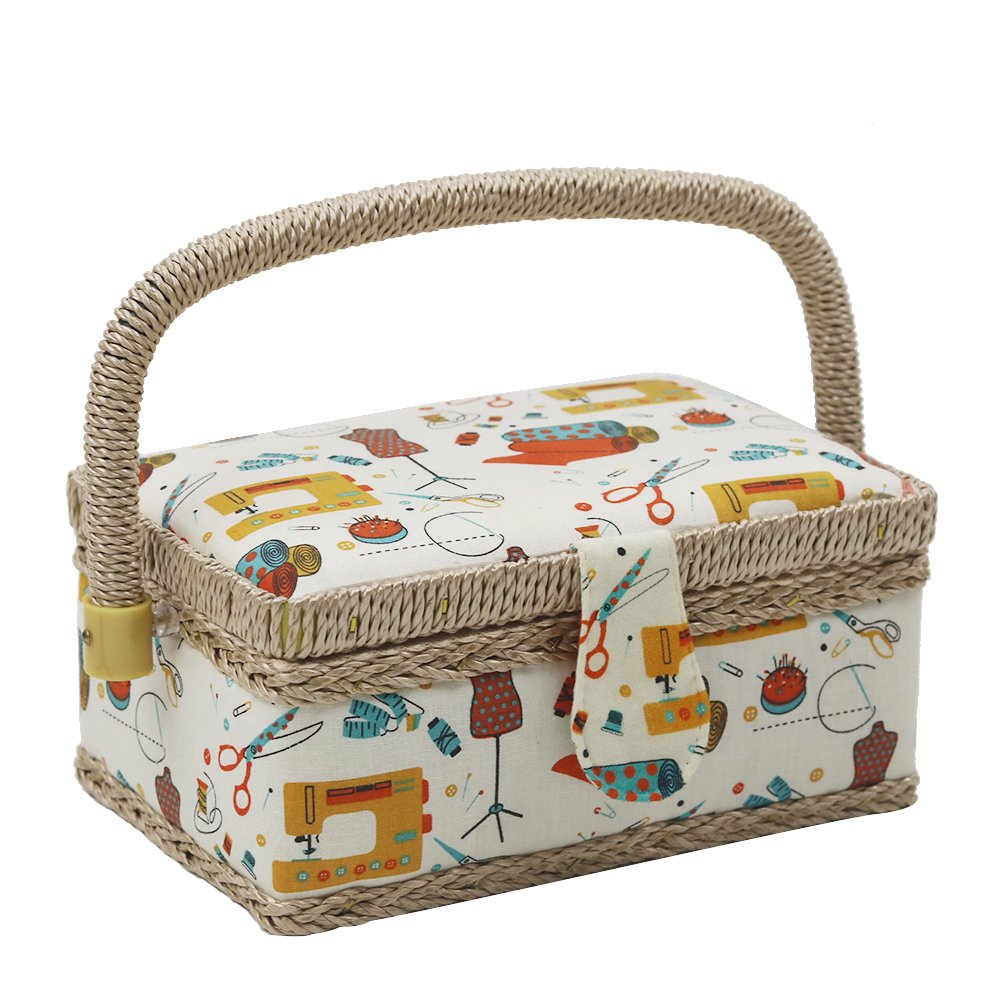 Sewing Basket With Accessories
