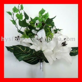 Silk Artificial Tiger Lily Bouquet.
