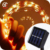 Wedding Garden Decoration 10m 100Lights Warm White Solar Powered Outdoor String Lights
