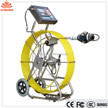 Self Video Pan Tilt Unit Underwater Inspection Camera Endoscope ,borewell inspection camera
