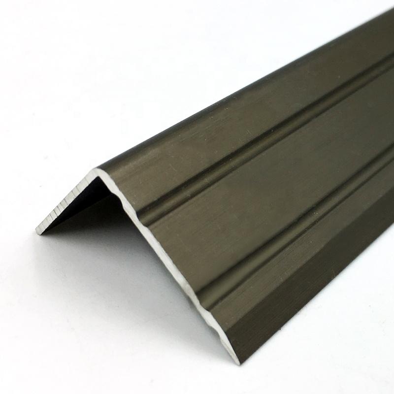 Beautiful Bronze Metal Tile Trim Floor Edge To Carpet Transition Divider Strips