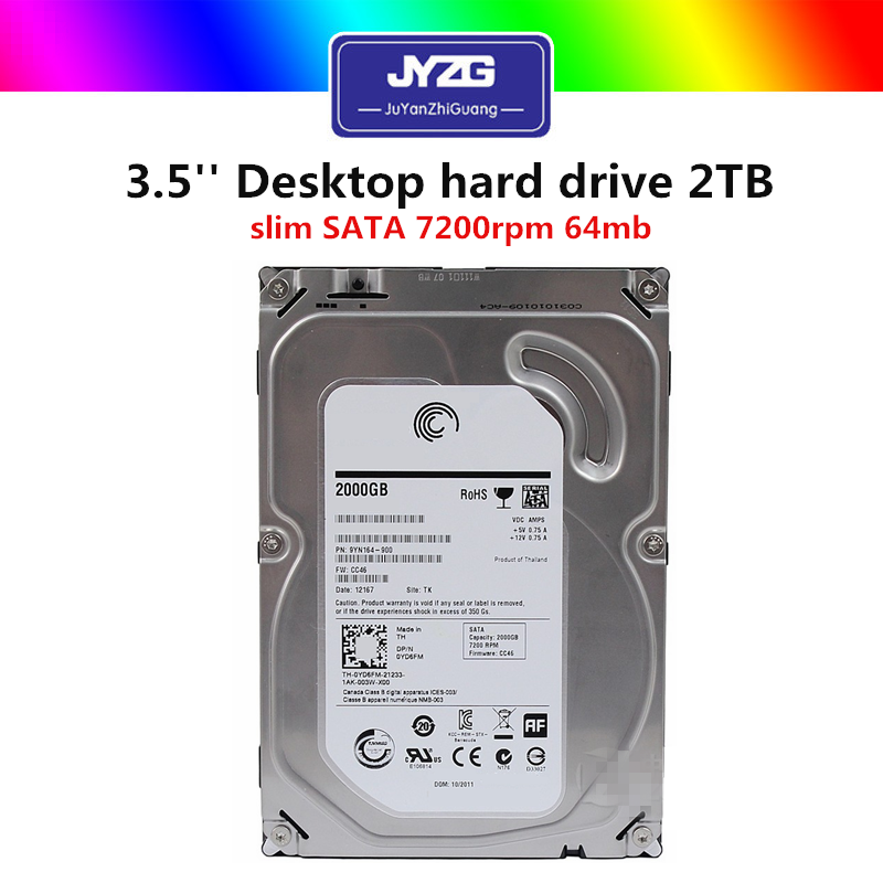 "3.5"" inch computer hard drive disk HDD sata 500GB 1TB 2TB used hard disk drives"