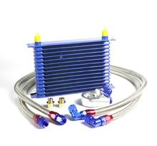 Mentor10Row AN10 Universal Engine Transmission Oil Cooler + Lọc Chuyển Kit