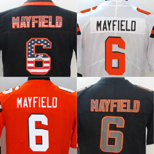 Wholesale Baker Mayfield 2018 Draft Pick Game Jersey