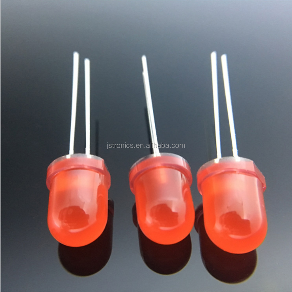 Factory price 0.06W single color 8mm 10mm led dip diode