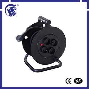professional IP44 50 meter cable reel extension