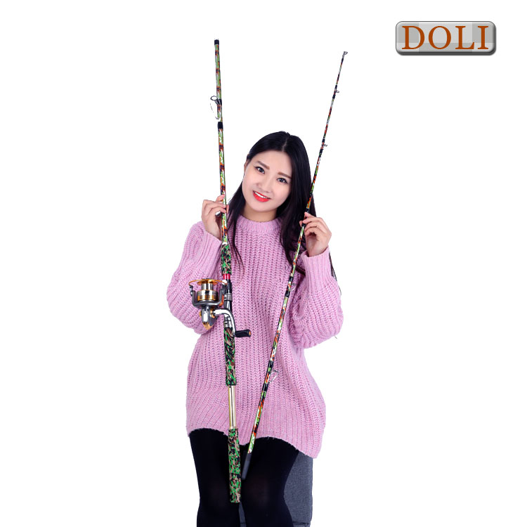 Wholesale Best selling carbon fiber fishing rod blank carp sea fly boat Fishing Rods and reels