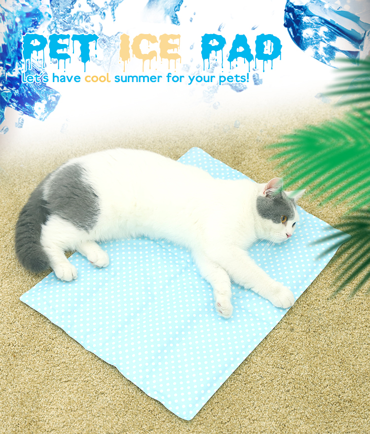 Hot Selling Zomer Cooling Huisdier Ijs Mat, Mode Goedkope Huisdier Ijs Cooling Mat Hond