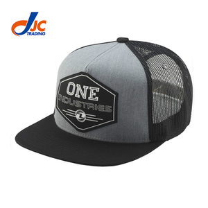 91aa67e8024 Unipin Manufacturer Wholesale High Quality Gray Embroidery Patch Mesh  Trucker Hats Custom Snapback Caps