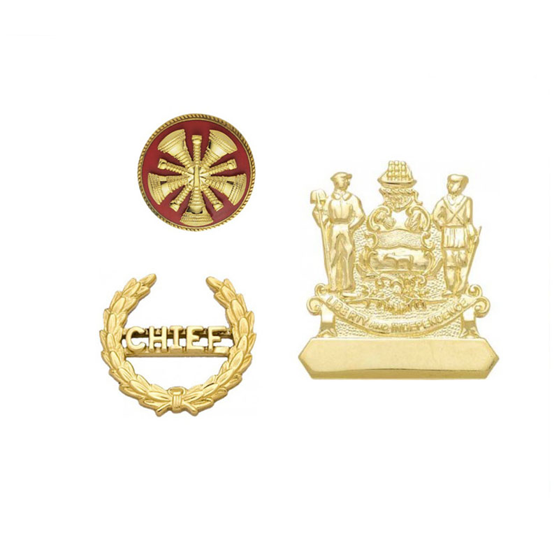 Personalized custom logo uae die cast gold plating souvenir epoxy badge metal brass enamel lapel pin
