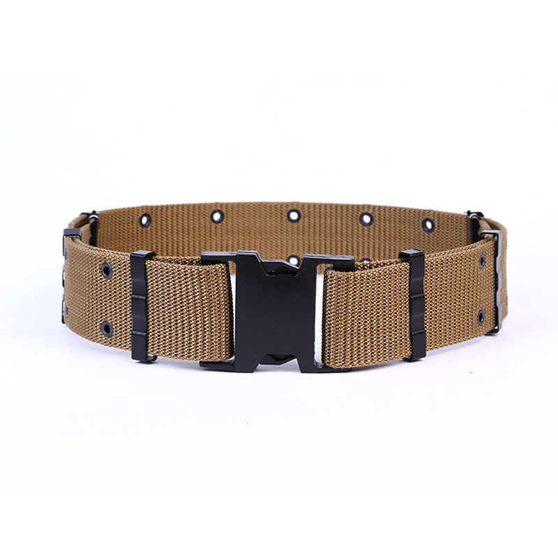 Military accessories adjustable fashion duty utility belt for men