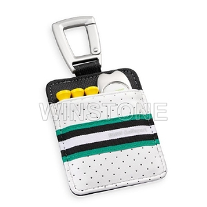 Promotional Gifts For Golf,Portable Golf Set,Golf Tee and Golf Divot Tool Packed In Leather Pouch
