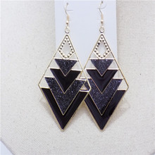 Korean fashion jewerly zinc alloy stud earrings for Women with plant small earrings tree Christmas cheap ethnic earing cute girl