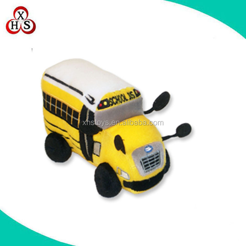 custom bus plush toy soft bus stuffed toys plush toy bus factory wholesale