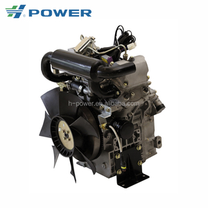 Finely processed concise design v-twin diesel engine HPEV80