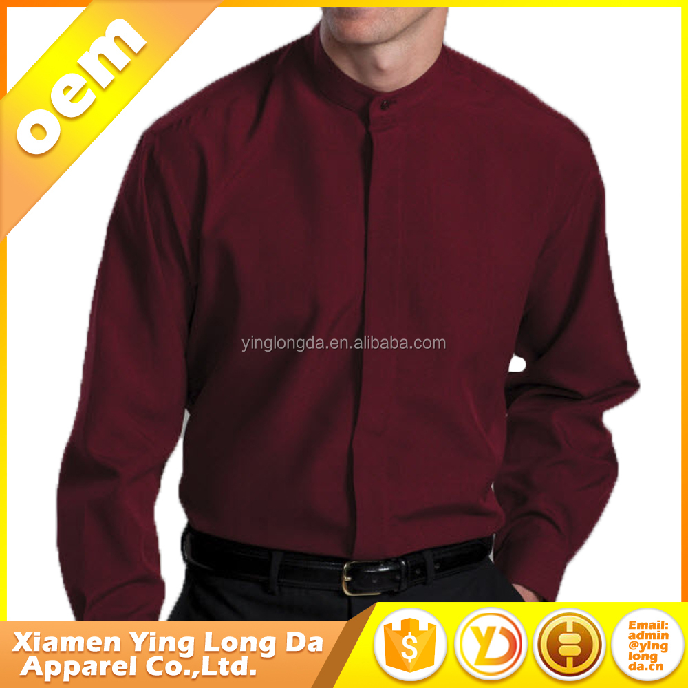 Uomo Royal Red Slim Fit camicia uniforme