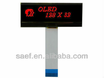 128x32dots With Red Graphic Oled Micro Display - Buy Oled Micro  Display,128x32dots Oled Micro Display,With Red Graphic Oled Micro Display  Product on