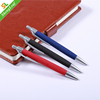 Rubberized soft handle plastic ball pen for advertisement