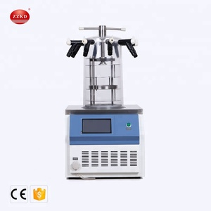 < KD> Factory Price Cold Trap Temperature Mini Vacuum Freeze Dryer from China