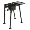 Portable outdoor/indoor gas/propane cooker stove